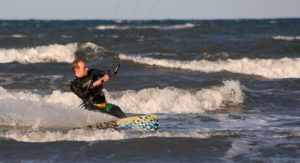 Kite Boarding, West Sands, St Andrews